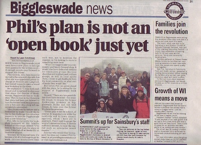 Biggleswade Chronicle, Friday October 30, 2009, p.31